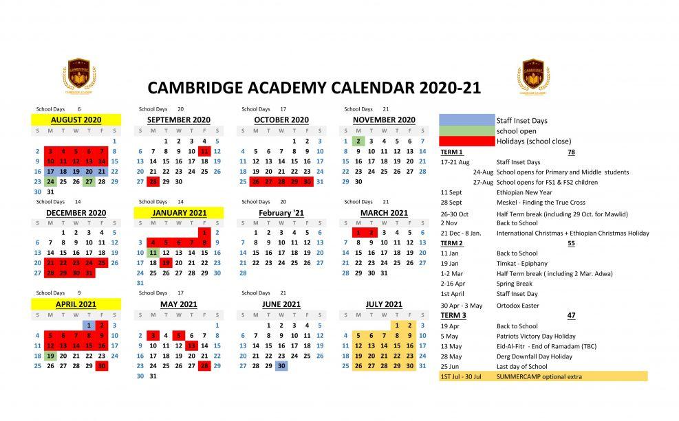 Cambridge Academy - banner