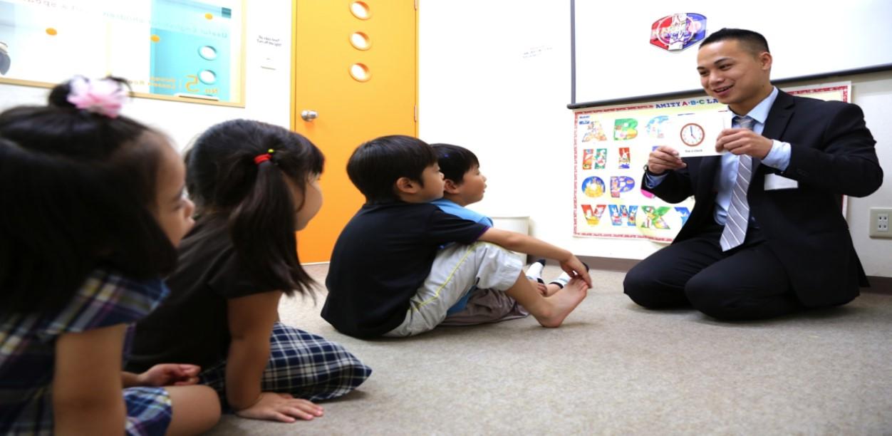 Teach Kindergarten Students at Amity!